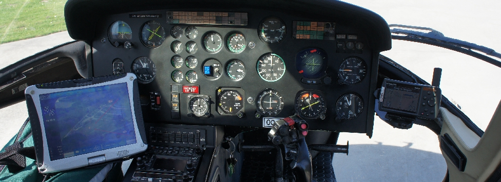 MUG HELICOPTER GPS touchscreen